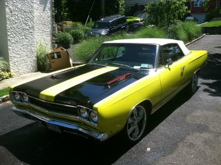 Rare Beauty 1968 Plymouth Gtx Replica Convertible Many Pictures photo