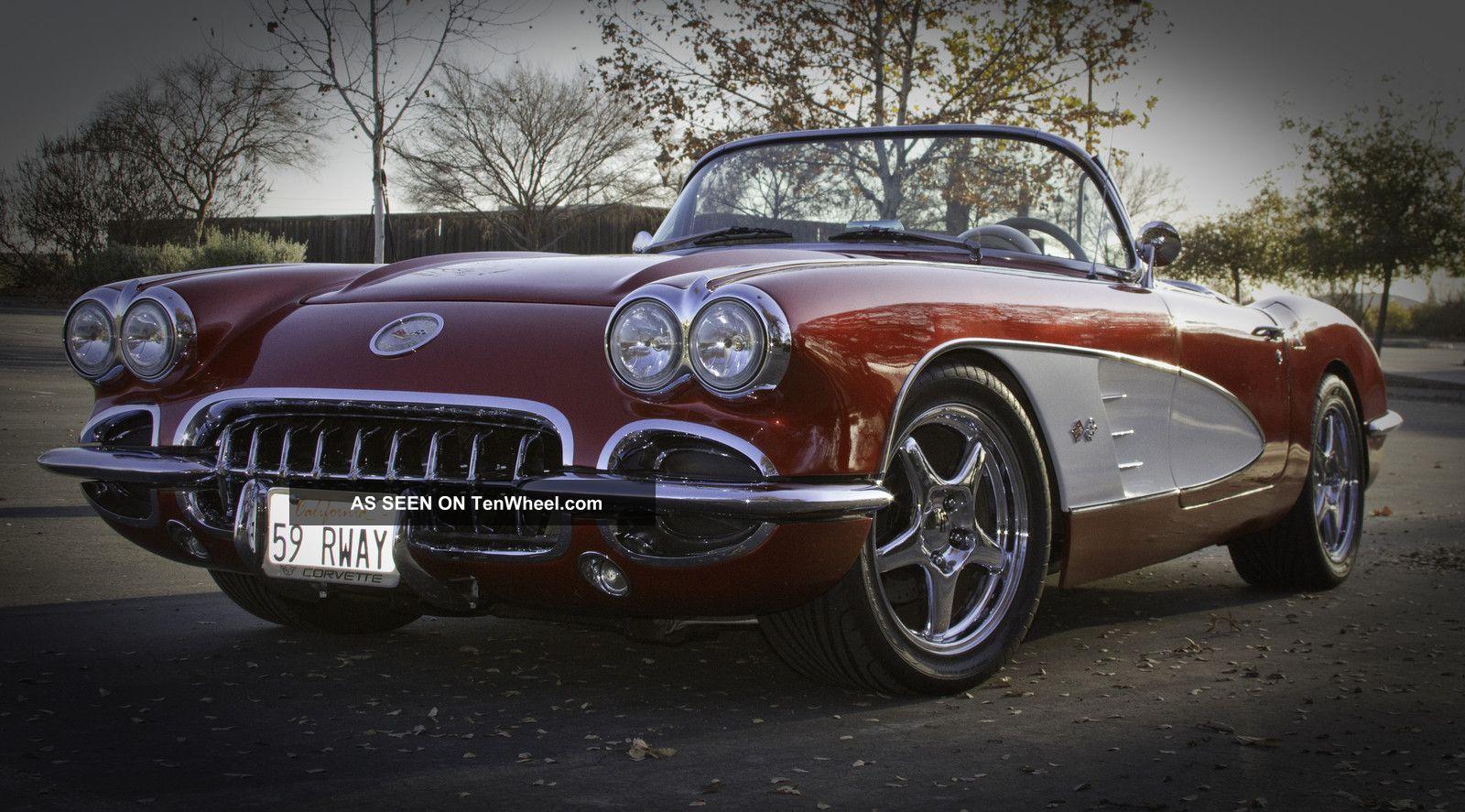 1959 Corvette Retrorod Ls1 C4 Suspension Frame Up Restoration