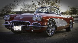 1959 Corvette Retrorod Ls1,  C4 Suspension,  Frame Up Restoration photo