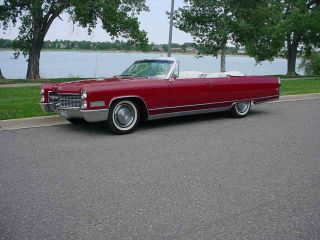 1966 Cadillac Fleetwood Eldorado Convertible photo