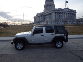 2012 Jeep Wrangler - Silver photo