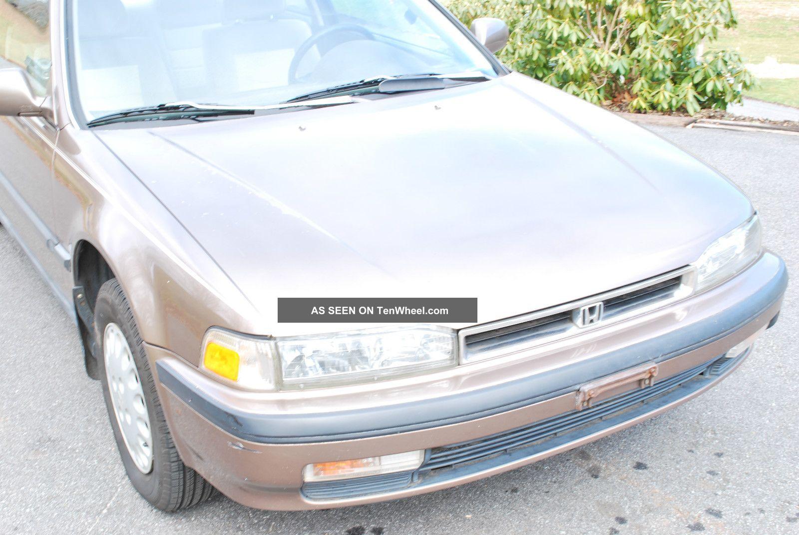 Honda 91 honda accord lx : 1991 Honda Accord Lx Coupe 2 - Door 2. 2l