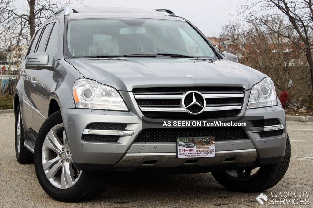 2011 mercedes benz gl450 4matic dual dvd keyless go rear for Gl450 mercedes benz