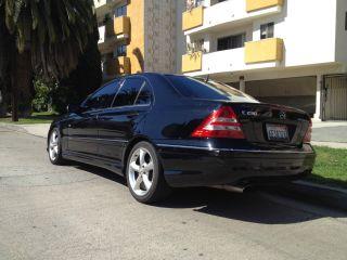 2005 Mercedes Benz C230 Kompressor Black On Black,  Loaded,  Private Seller photo