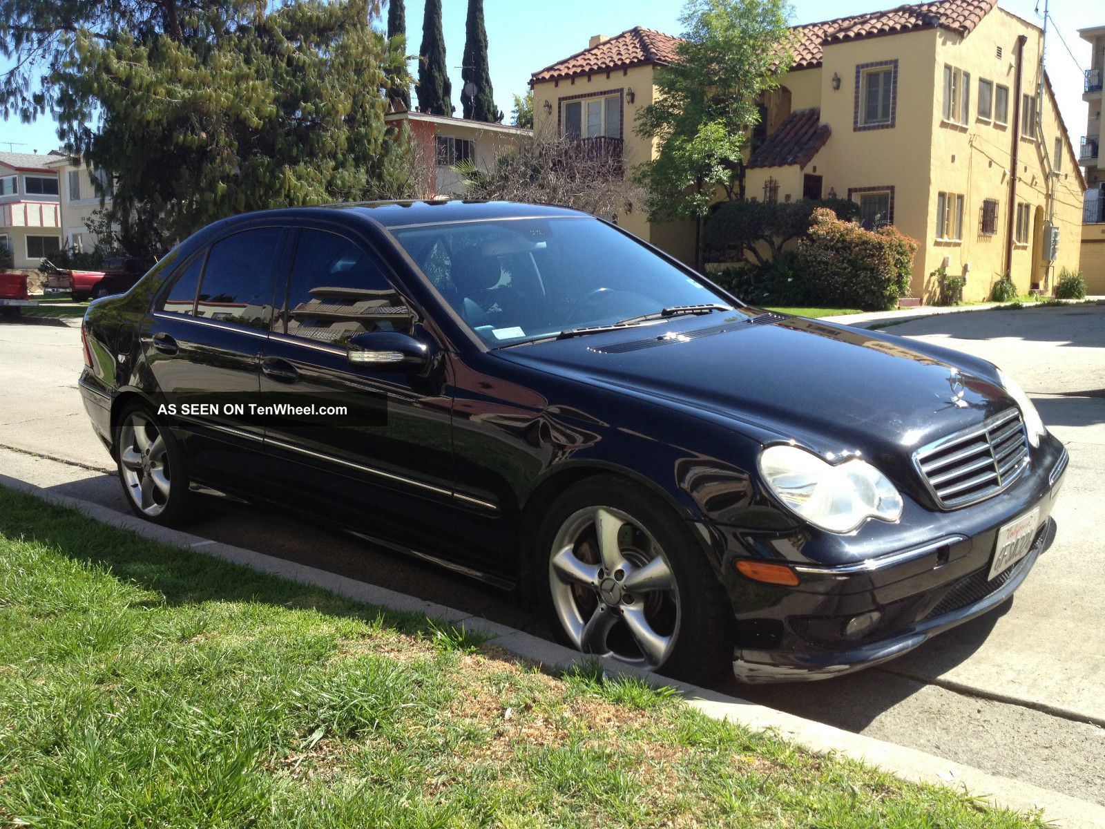 2005 mercedes benz c230 kompressor black on black loaded for Mercedes benz c230 kompressor 2005