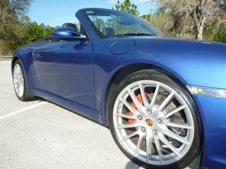 2007 Porsche 911 Carrera S Convertible 2 - Door 3.  8l photo