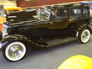 Classic 1934 Plymouth Sedan With Suicide Doors photo