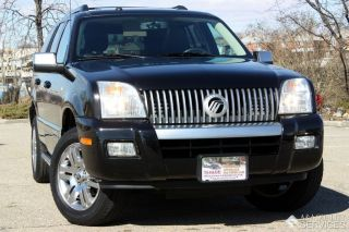 2010 Mercury Mountaineer Premier Awd Rear Dvd Sync Black photo