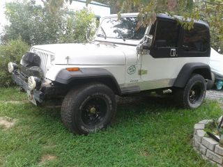 1988 Jeep Wrangler Yj 4x4 Vortec Powered Gm Conversion Hard Top And Soft photo