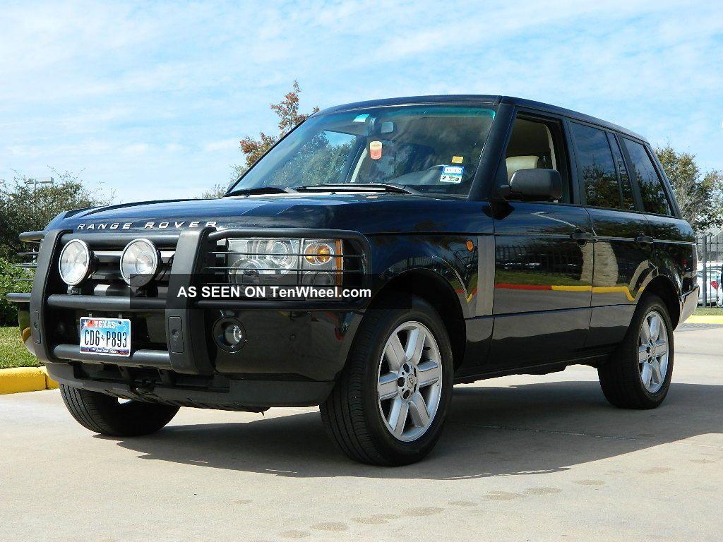 2004 land rover range rover hse sport utility 4 door 4 4l. Black Bedroom Furniture Sets. Home Design Ideas
