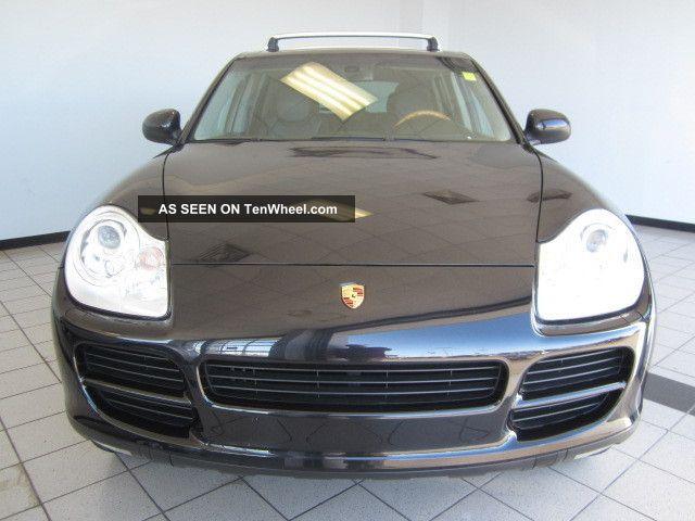 2004 Porsche Cayenne S Sport Utility 4 - Door 4.  5l Cayenne photo