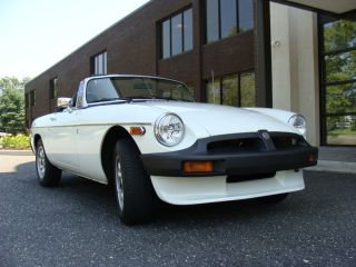 1977 Mgb Convertible Classic Over 15k Invested Nr photo