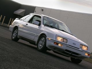 1989 Merkur Xr4ti 5 Speed Turbo A / C All Options Runs Well photo