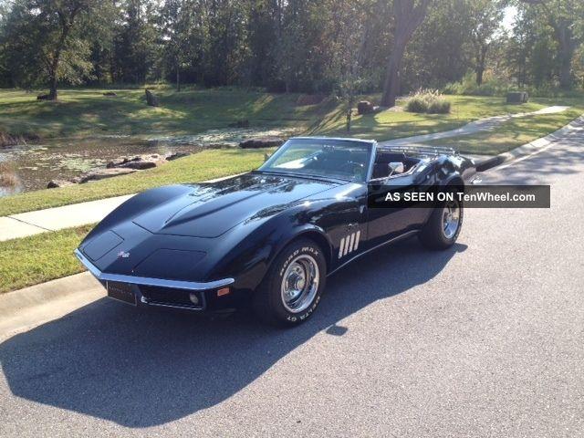 corvette stingray triple black 39 s match factory a c ps pb corvette. Cars Review. Best American Auto & Cars Review