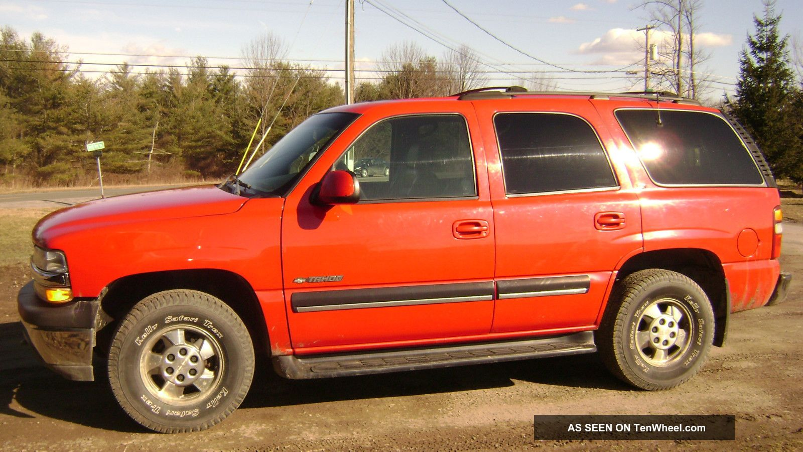 2001 chevy chevrolet tahoe 4x4 red suv suburban ready to go for 2001 chevy tahoe window motor