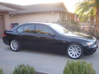 2006 Bmw 750i,  Black - N - Tan, ,  Full Luxury Sedan photo