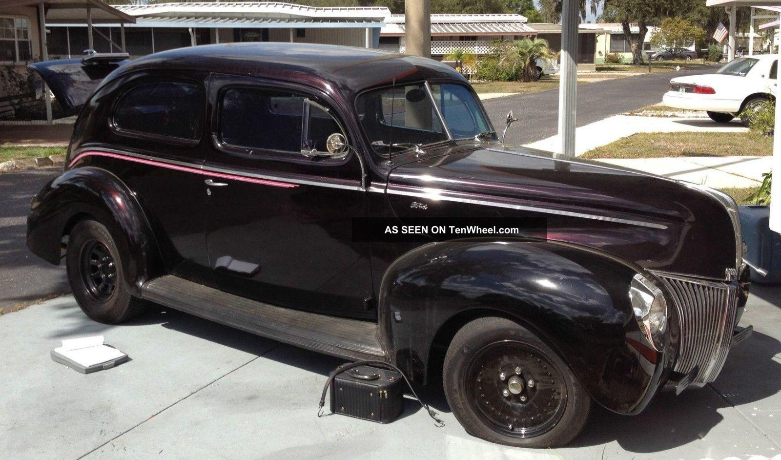 1940 ford tudor sedan fat car 2 door v8 350cc christine ii for 1940 ford 4 door sedan