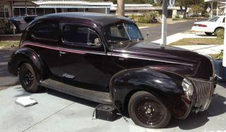 1940 Ford Tudor Sedan Fat Car 2 Door V8 350cc Christine Ii Needs Motor photo