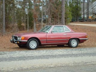 1973 Mercedes Benz 450sl Convertible Both Tops Priced To Sell Look photo