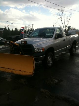 2004 Dodge 2500 4x4 Fisher Minute Mount Plow Runs photo
