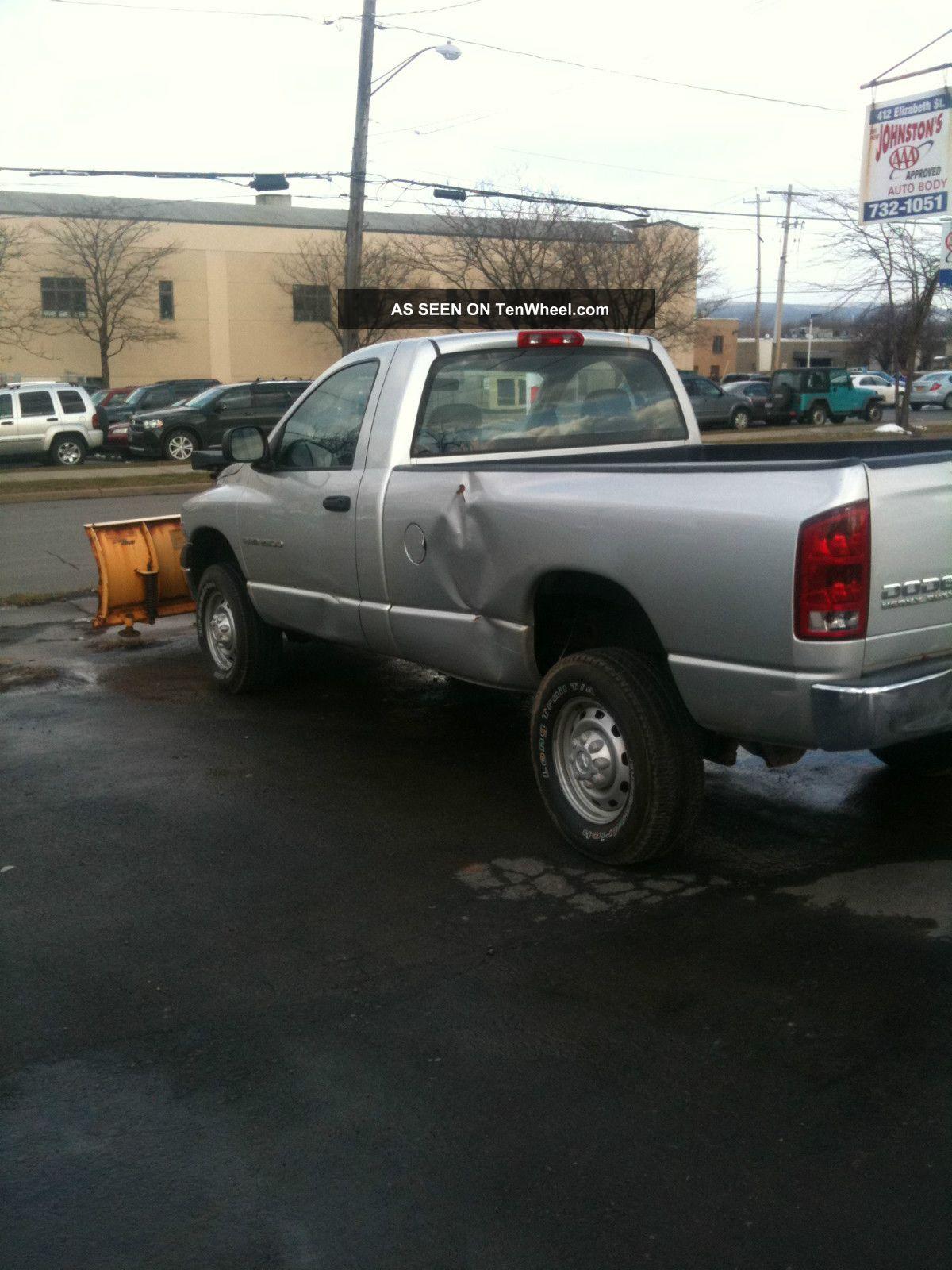 Dodge X Fisher Minute Mount Plow Runs Lgw