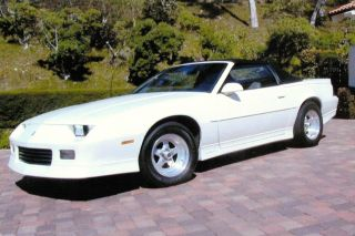 1988 Camaro Convertible photo