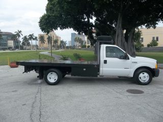 2005 Ford F350 Flatbed Dually Diesel Xl photo