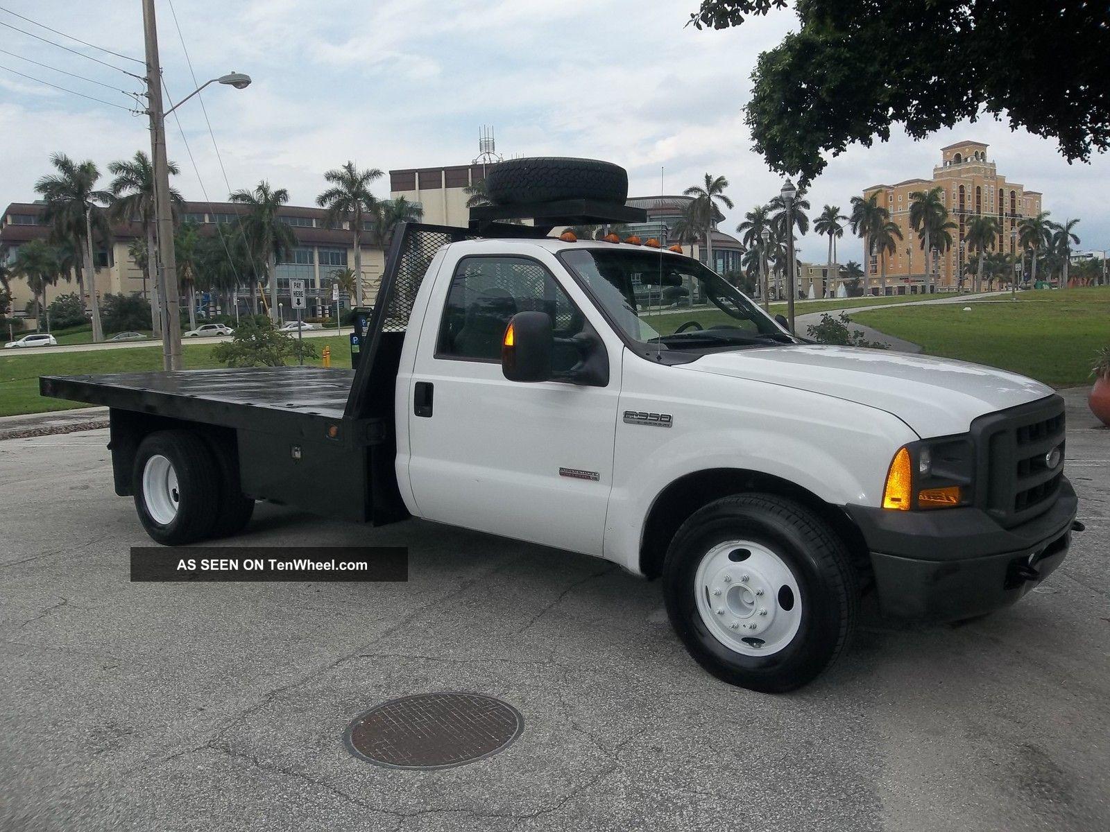 ford  flatbed dually diesel xl