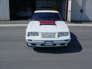 1984 Mustang Gt 350 5.  0 Convertible photo