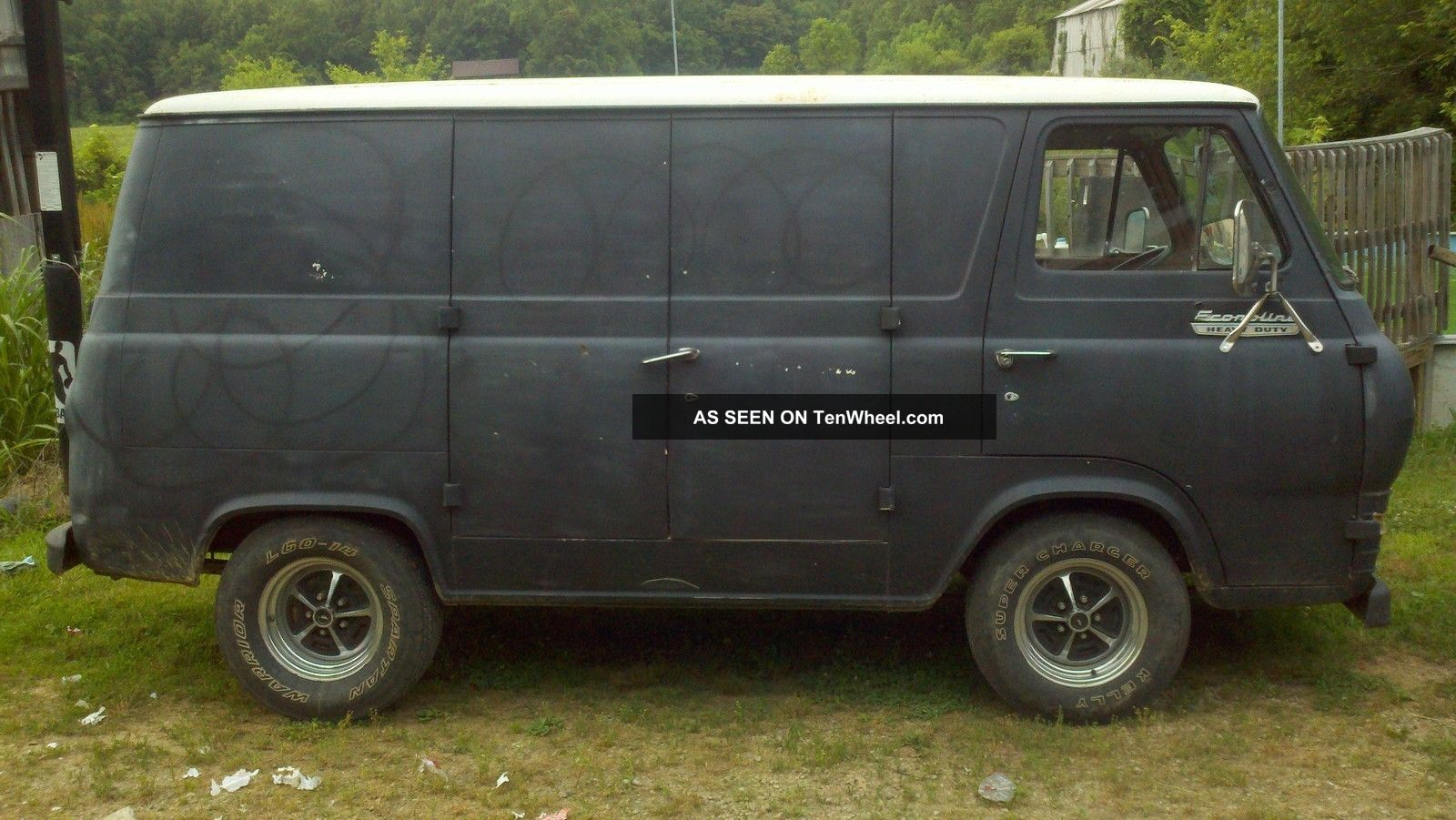 1965 ford econoline van. Black Bedroom Furniture Sets. Home Design Ideas