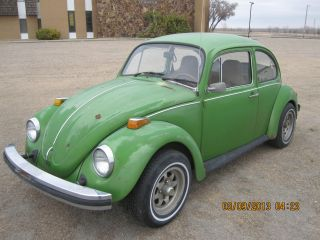 1976 Vw Volkswagen Beetle Bug Engine Runs And Drives Great photo