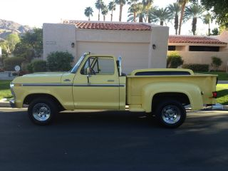 1977 Ford F - 150 Ranger Convertible 6 ' Step Bed W / Roll Bar Custom Wheels photo