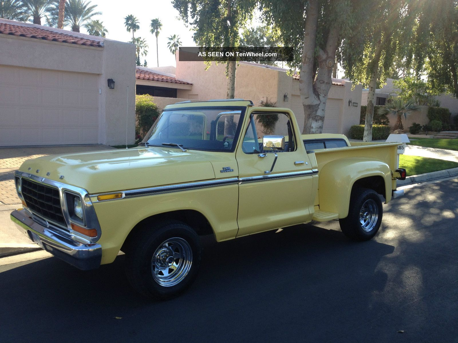 1977 ford f 150 ranger convertible 6 39 step bed w roll bar custom wheels. Black Bedroom Furniture Sets. Home Design Ideas