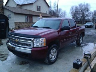2008 Chevrolet Silverado 1500 Lt Crew Cab Pickup 4 - Door 5.  3l photo