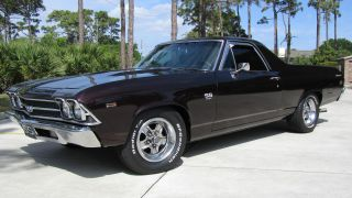 1969 El Camino Ss396 - - - Numbers Matching - - Custom Restoration photo