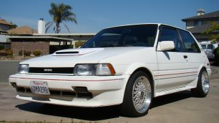 1987 Toyota Corolla Fx 16 Gt - Z On Bbs; 4agze Supercharged 6 Speed,  Custom,  30mpg photo