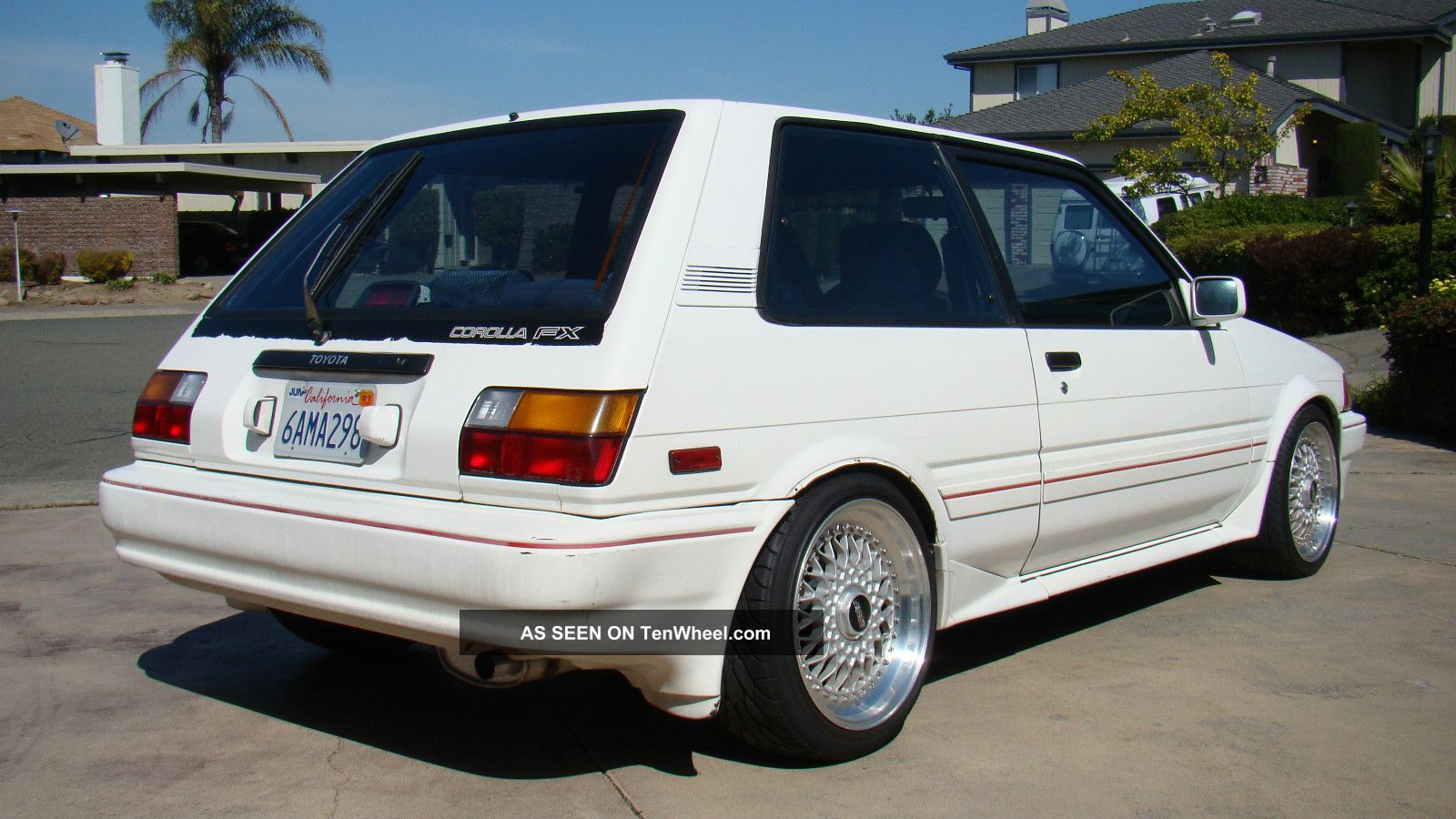 1987 toyota corolla fx 16 gt z on bbs  4agze supercharged 6 speed  custom  30mpg 75 Toyota Corolla 1995 Toyota Corolla