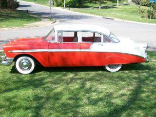 1956 Chevrolet 4 Door Bel Air Sedan photo