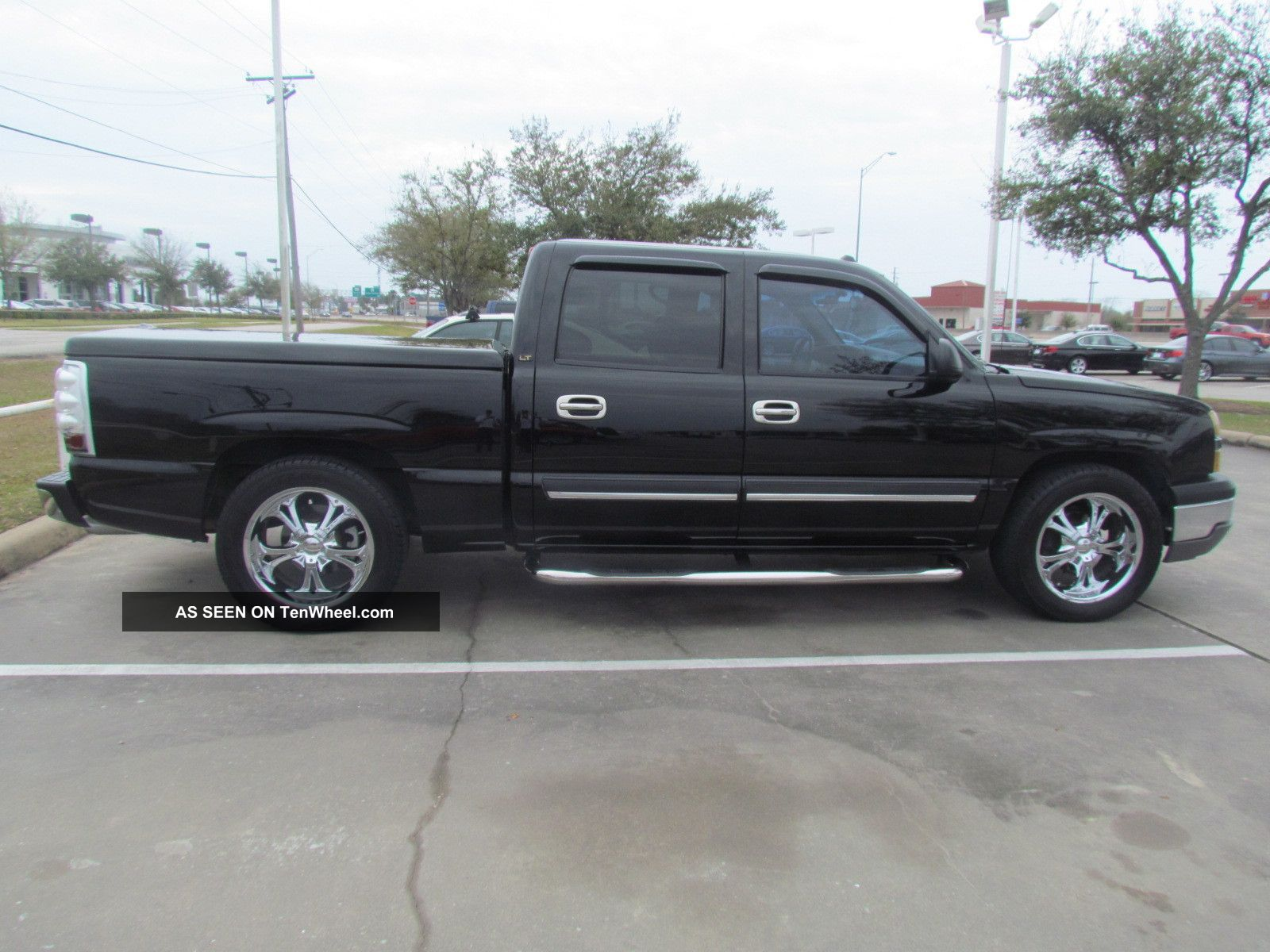 2004 chevrolet silverado 1500 lt crew cab pickup 4 door 4 3l. Black Bedroom Furniture Sets. Home Design Ideas