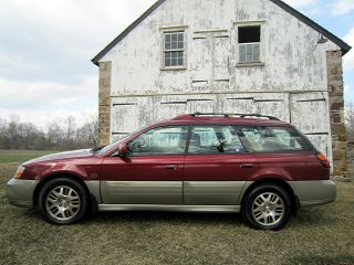 2002 Subaru Outback H - 6 - 3.  0 Ll Bean Model With photo