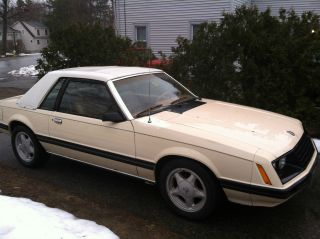 1981 Ford Mustang Ghia Sedan 2 - Door 3.  3l photo