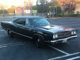 1969 Plymouth Gtx Matching S 440 Triple Black photo