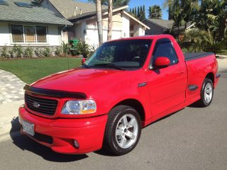2001 Ford F - 150 Lightning Standard Cab Pickup 2 - Door 5.  4l photo
