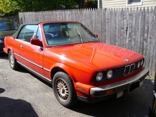 1987 Bmw 325i Convertible photo