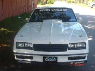 1983 Chevrolet Monte Carlo A / C photo