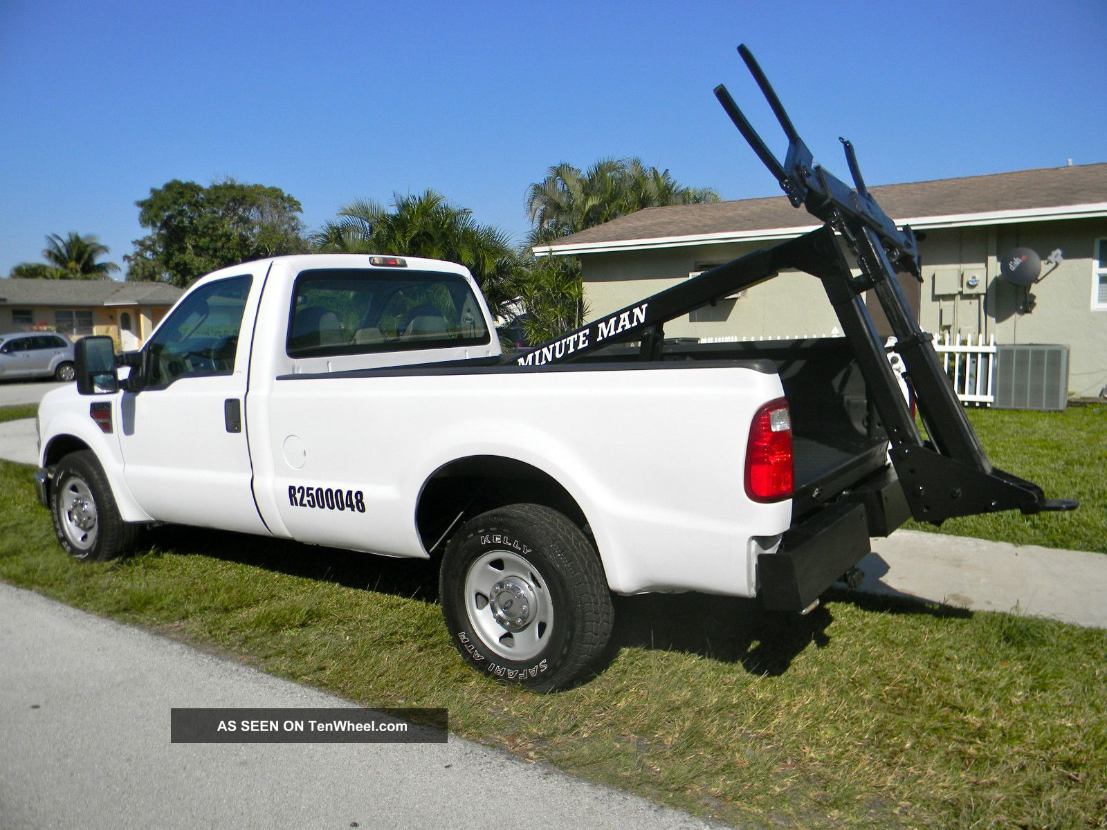 2008 Ford F350 F450 Diesel Duty Wrecker Tow Truck Repo Truck F-350 photo
