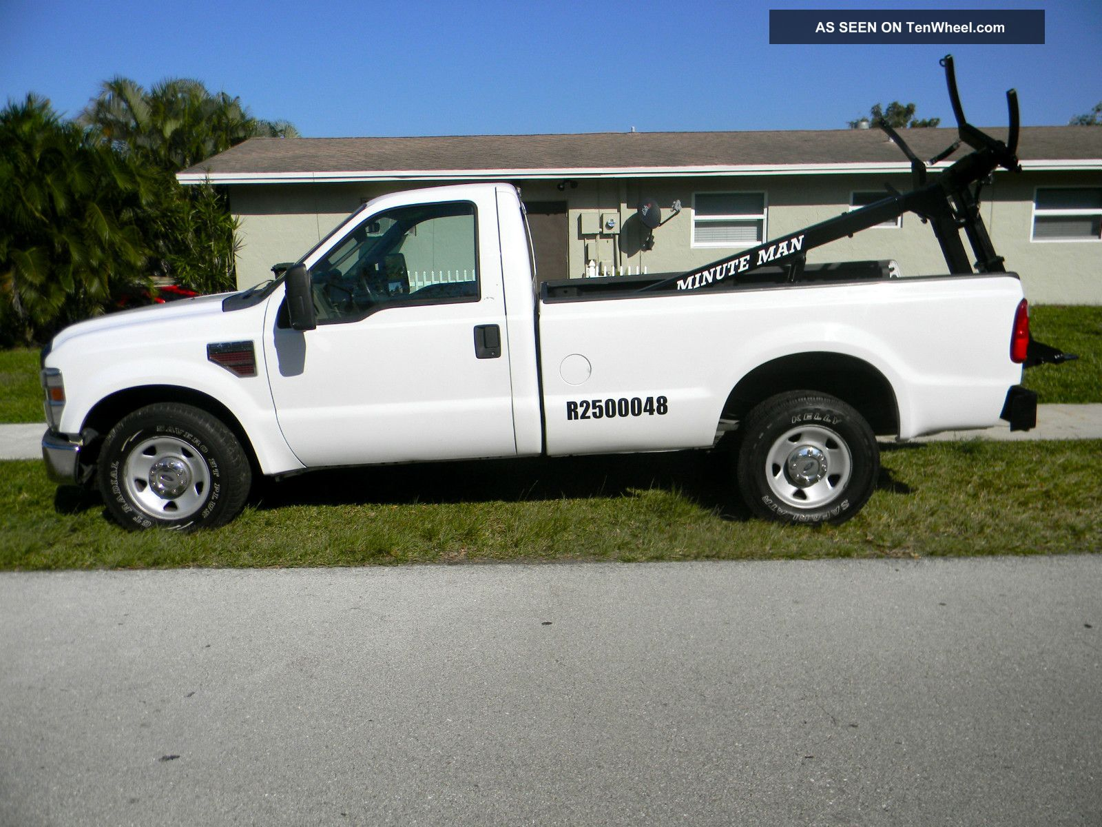2013 Ford F450 Wrecker 4x4 Ext Cab Autos Post