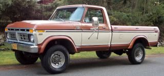 1977 F250 4x4 Ranger Xlt Highboy Rebuilt 460 Fac A / C Sell photo