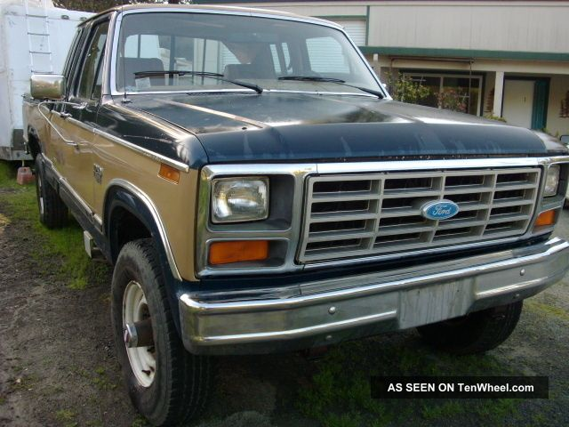 1984 Ford F250 Xlt,  4x4,  Ext.  Cab 6.  9 Diesel. .  Hard To Find Have Receipts. F-250 photo