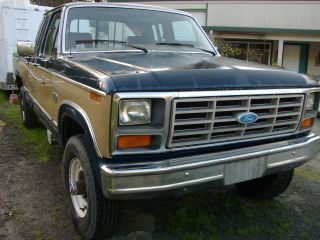 1984 Ford F250 Xlt,  4x4,  Ext.  Cab 6.  9 Diesel. .  Hard To Find Have Receipts. photo